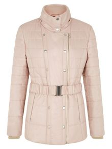 Almond Belted Coat