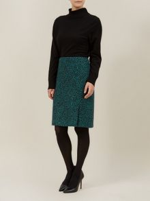 Emerald Boot Skirt