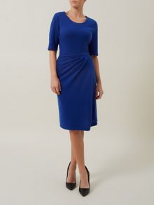 Cobalt Blue Wrap Dress