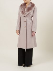 Palamino 3/4 Fur Collar Coat