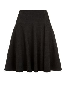 Plain Textured Skirt