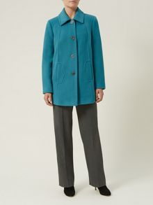 Teal Short Coat