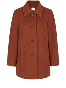 Rust Short Coat