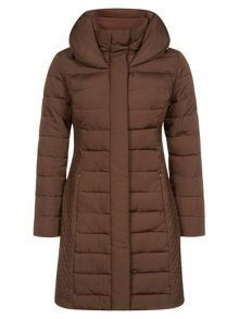 Hooded Chocolate Coat