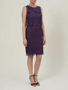 Floating Bodice Lace Dress