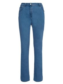 Light Wash Classic Jeans Long