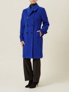 Cobalt Wool Coat