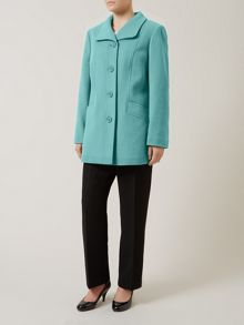 Soft Teal Coat