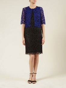 Blue Lace Cover-up