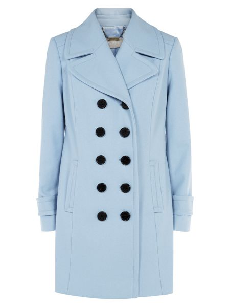 Pale Blue Planet Coat