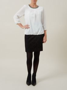 Lace Boot Skirt