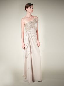 Lorcan Mullany  Sequin & Bead Detail Gown