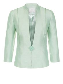 Petite One Button Jacket