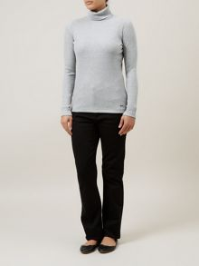 Jersey Roll Neck
