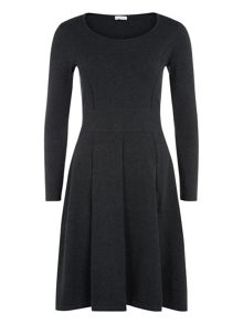 Charcoal Knitted Dress