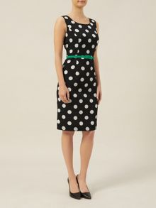 Spotty Woven Dress