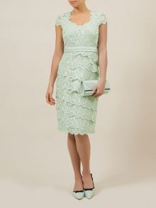 Sweetheart Lace Layered Dress