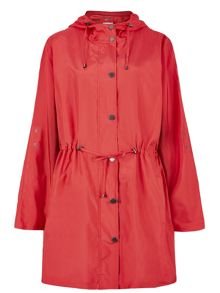 Tomato Hooded Parka