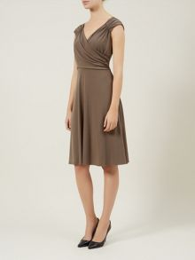 Taupe Jersey Dress