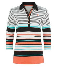 Striped Rugby Top