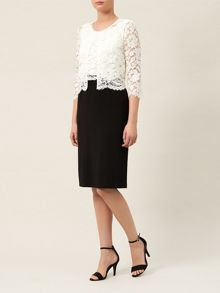 Scallop Edge Lace Jacket
