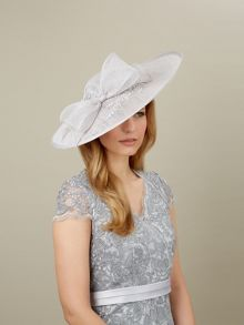 Lace Insert Disc Headpiece