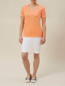 Coral Patch Pocket t-shirt