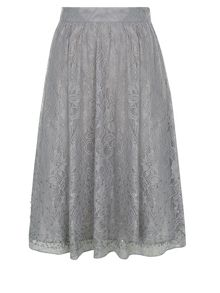 Beaded Lace Skirt