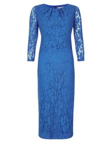 Cornflower Blue Lace Dress