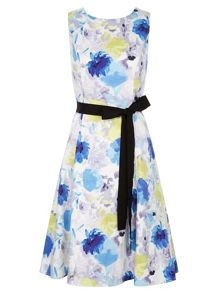 Colour Pop Floral Prom Dress