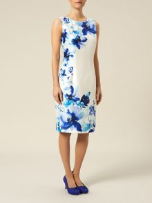 Petite Placement Flower Dress