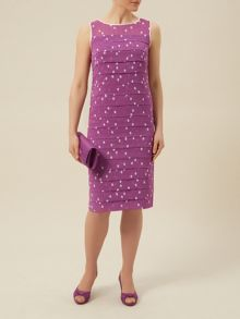 Spot Layers Dress