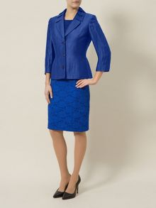 Bright Blue Crinkle Jacket