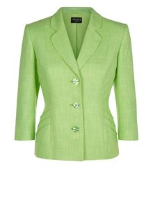 Apple Green Tweed Jacket