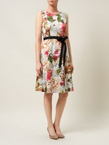 Bouquet Floral Prom Dress