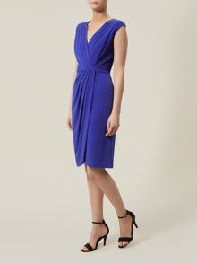 Blue Applique Dress