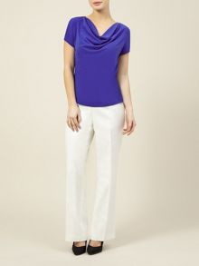 Ivory Linen trousers