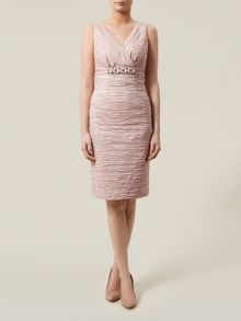 Oyster Ruched Dress