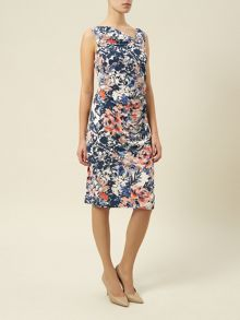 Floral Sleeveless Detail Dress