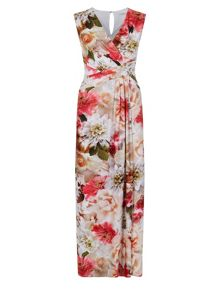 Bouquet Floral Maxi Dress