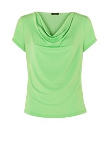 Green Cowl Neck
