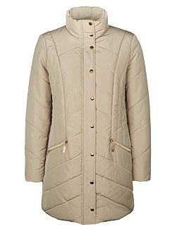 Heavy Quilted Coat
