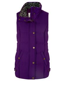 Dash Peached Gilet Purple