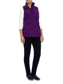 Peached Gilet Purple