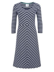 Mix And Match Stripe Dress