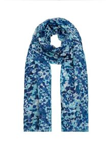 Pebble floral scarf