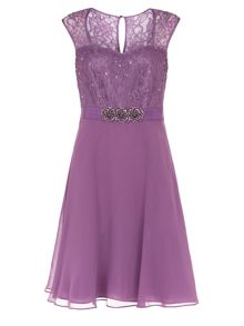 Kaliko Lace And Chiffon Prom Dress