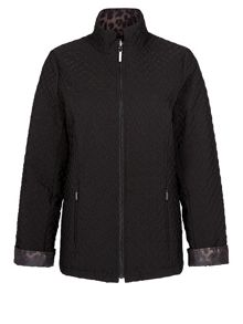 Jacques Vert Short Reversible Padded Jacket
