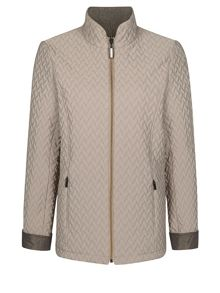 Short Reversible Padded Jacket