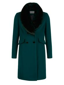 Kaliko Brushed Wool Coat